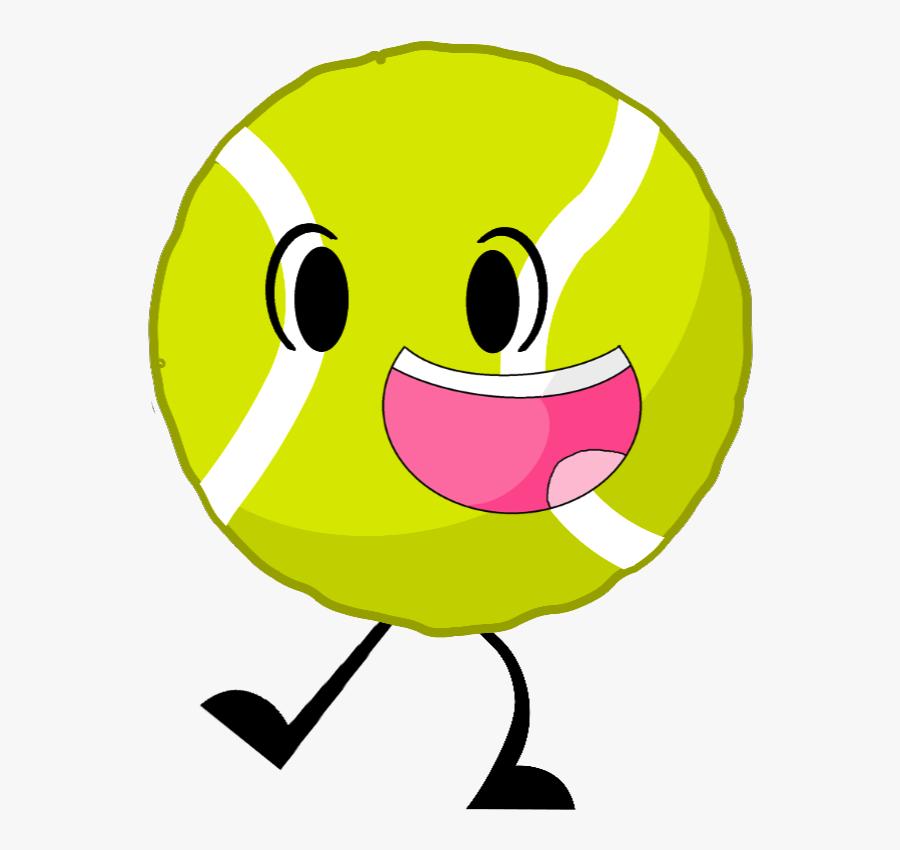 Image - Battle For Dream Island Tennis Ball, Transparent Clipart
