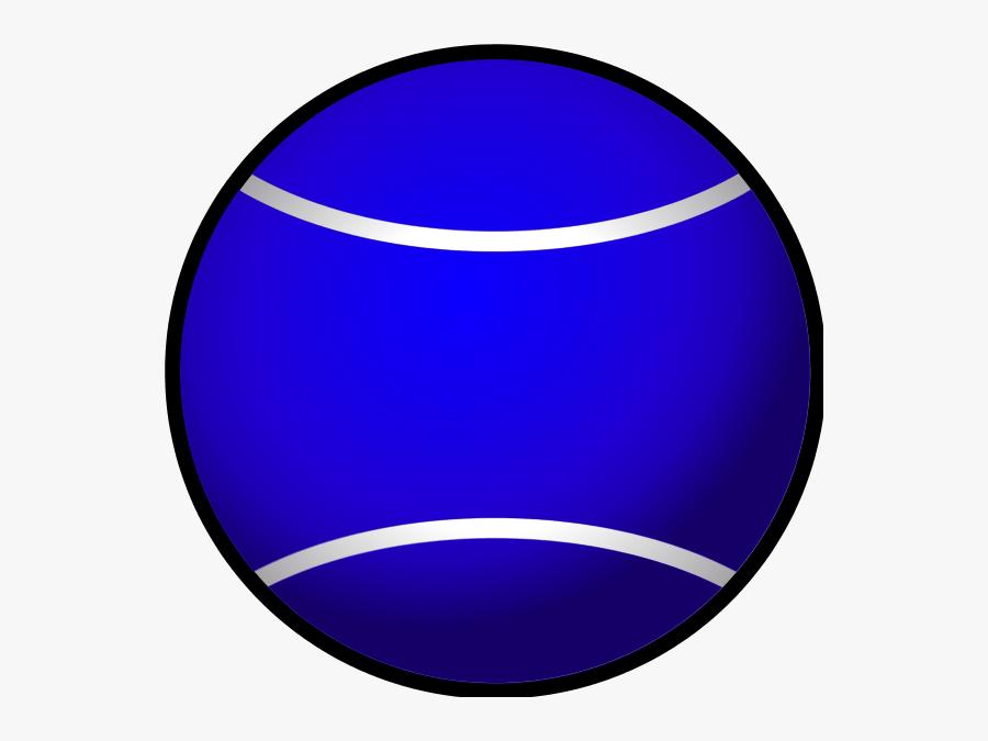 Tennis Ball Simple Vector Clip Art - Tennis Ball, Transparent Clipart