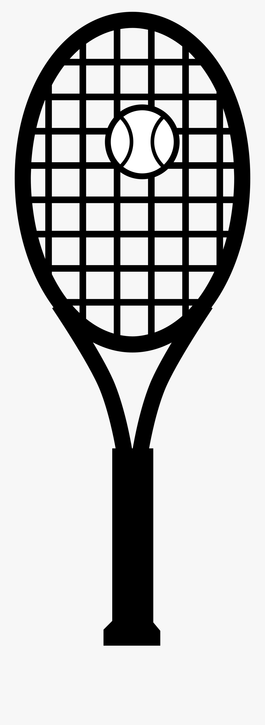 Clip Art Tennis Racket, Transparent Clipart