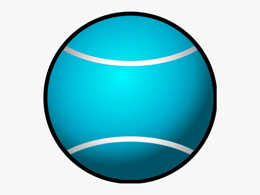 Blue Tennis Ball Clip Art, Transparent Clipart