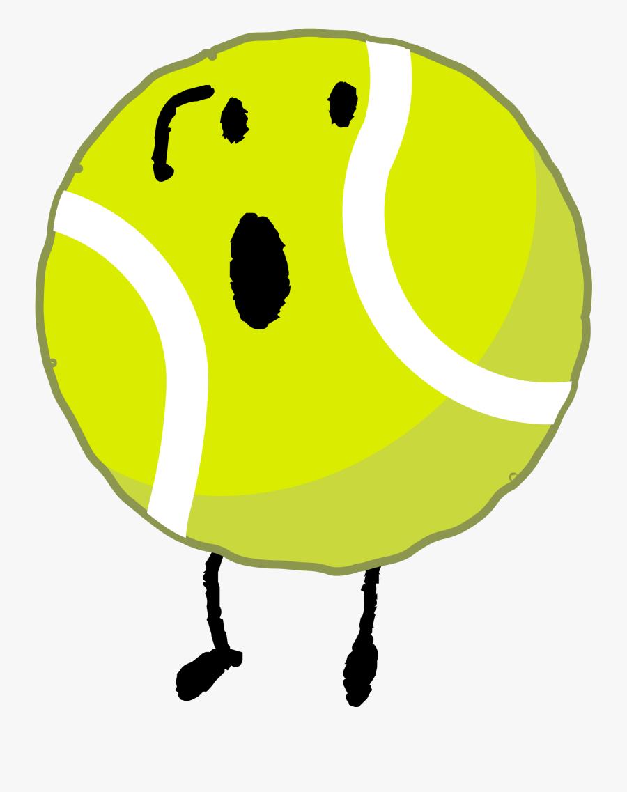 Tennis Ball Clip Art Tennis Ball Clipart Bfb 2 - Bfdi Tennis Ball Sleep, Transparent Clipart