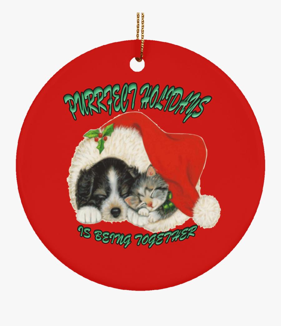 Clip Art Pet Santa Hat - Christmas Dog And Cat Clip Art, Transparent Clipart