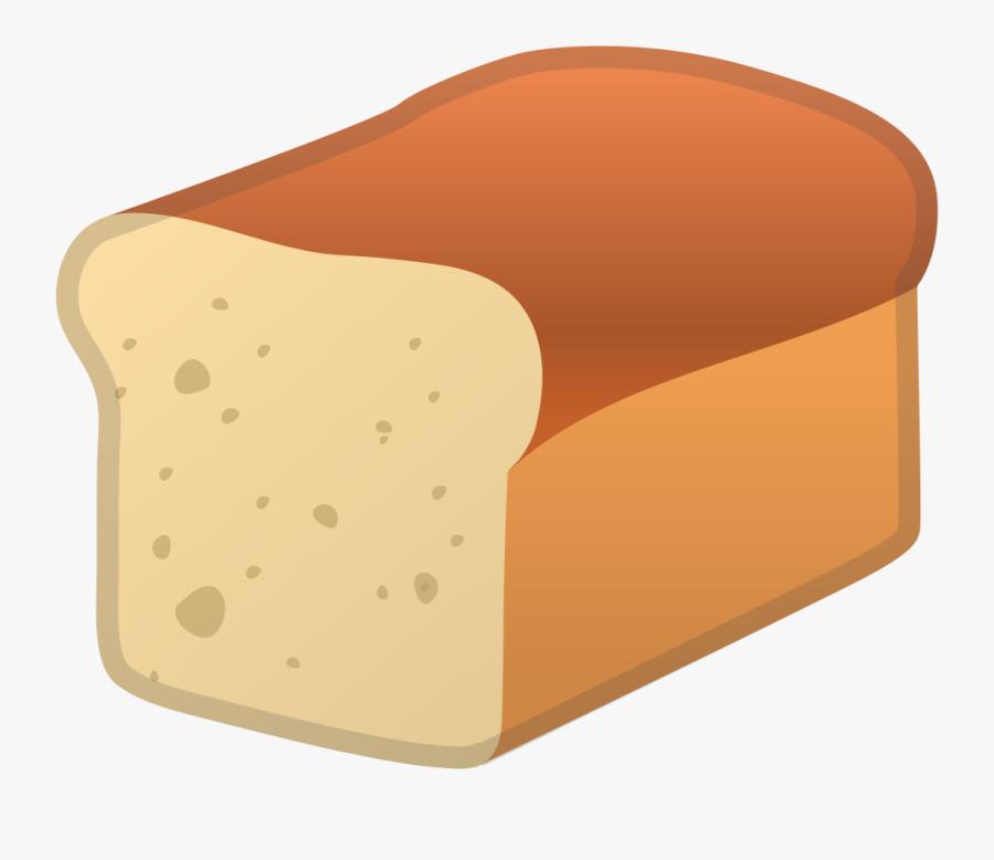 Loaf - Emoji Pan, Transparent Clipart