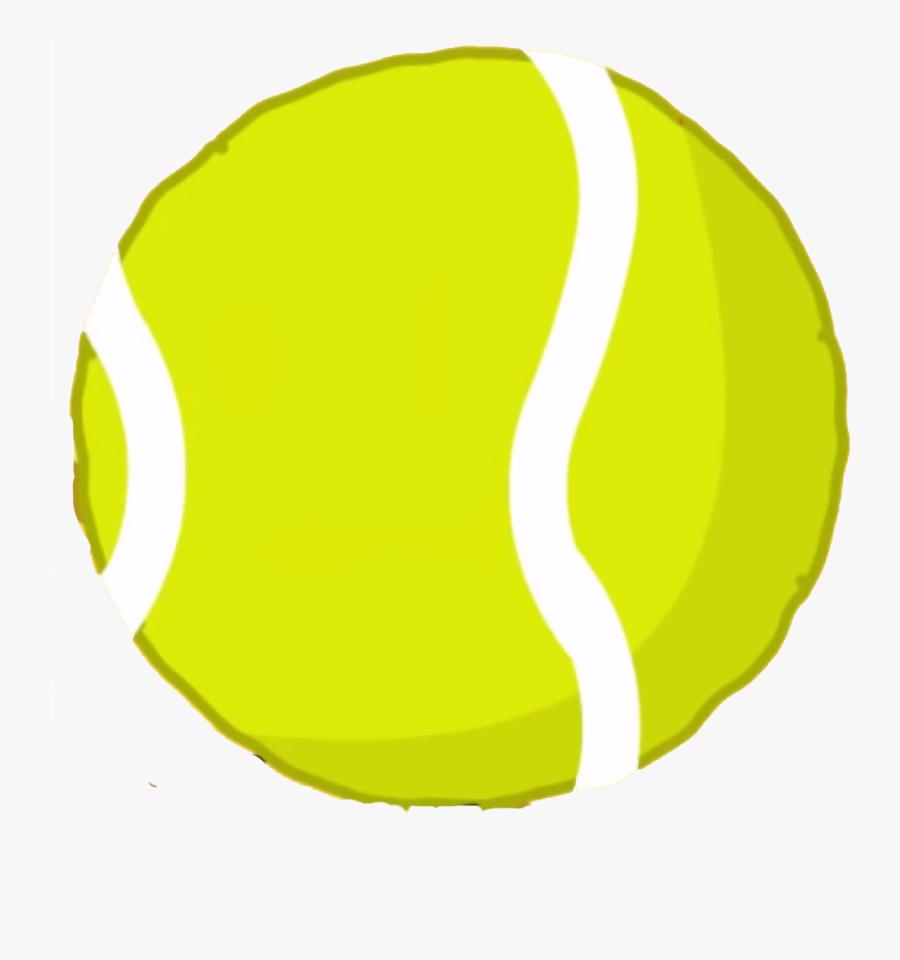 Battle For Dream Island Wiki - Bfb Tennis Ball Asset, Transparent Clipart