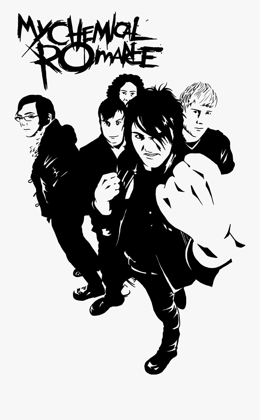 My Chemical Romance Png Clipart Background My Chemical Romance