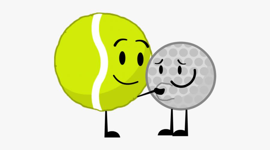 Tennis Ball And Golf Ball, Transparent Clipart
