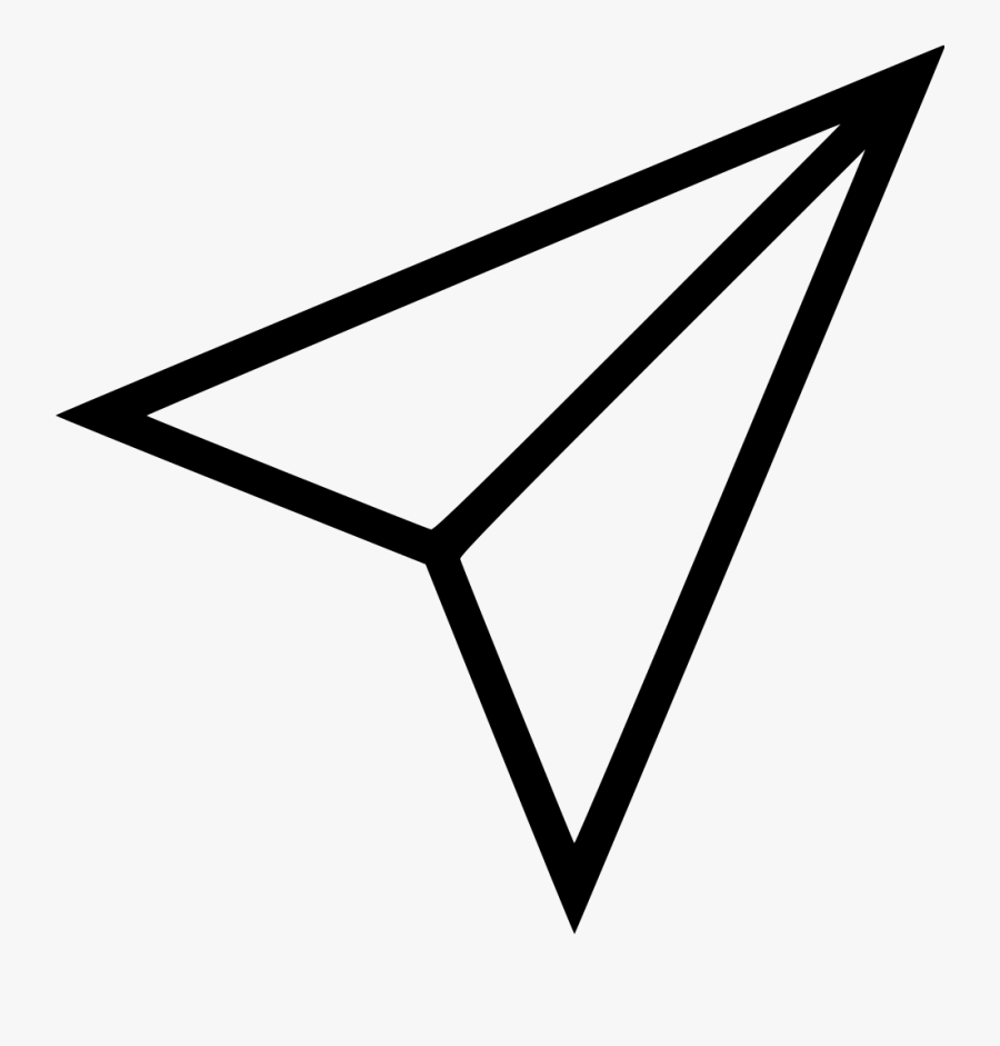 Instagram Paper Airplane Icon Free Transparent Clipart Clipartkey