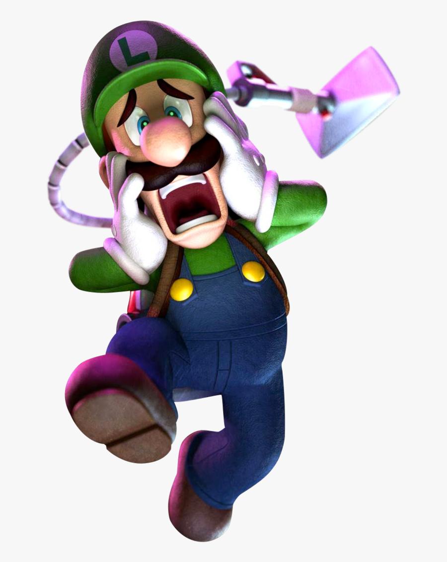 Luigi Clipart Scared Luigi S Mansion Dark Moon Luigi