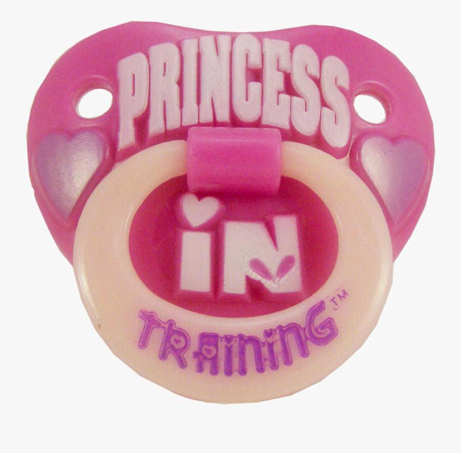 90012 Princess In Tr - Pacifier Transparent, Transparent Clipart
