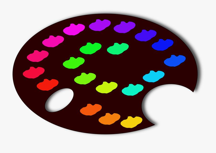Transparent Palette Png - Color Palette Color Board, Transparent Clipart