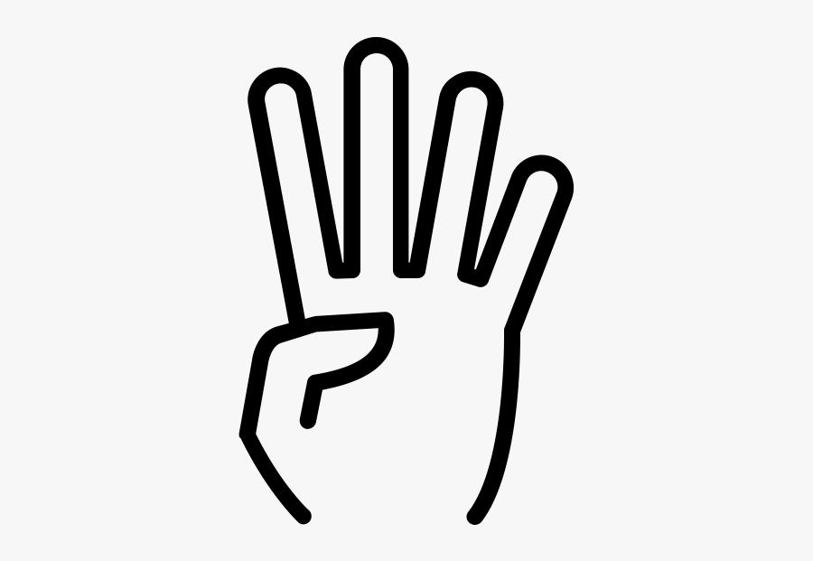 "Four Fingers Rubber Stamp""  Class=""lazyload Lazyload - Four Fingers Clip Art, Transparent Clipart"