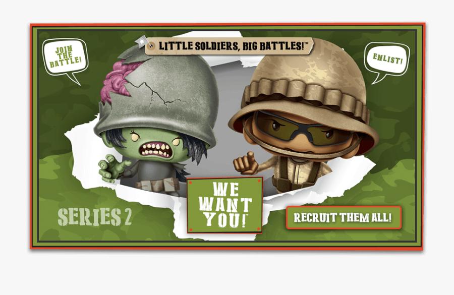Clip Art Little Green Army Guys - Awesome Little Green Men Series 2, Transparent Clipart
