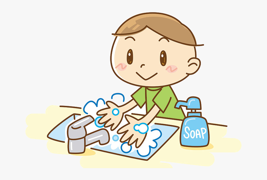 Washing Hands Clipart Collection Of With Soap Transparent - Wash Your Hands Clipart, Transparent Clipart