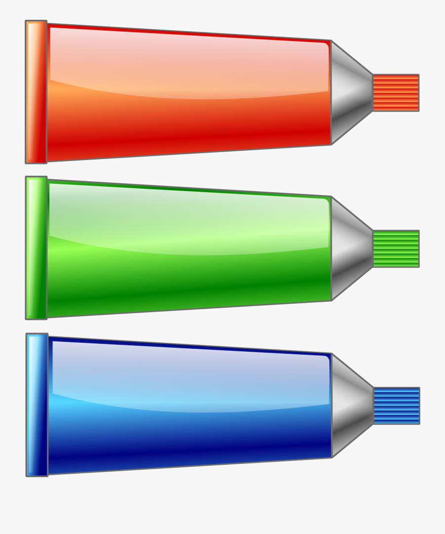 Red Green Blue Colors Clip Art At Clker - Red Blue And Green Clipart, Transparent Clipart
