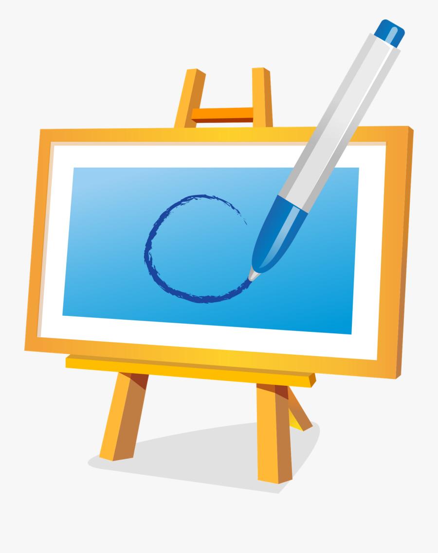 Transparent Paint Palette Clip Art - Painting Icon, Transparent Clipart