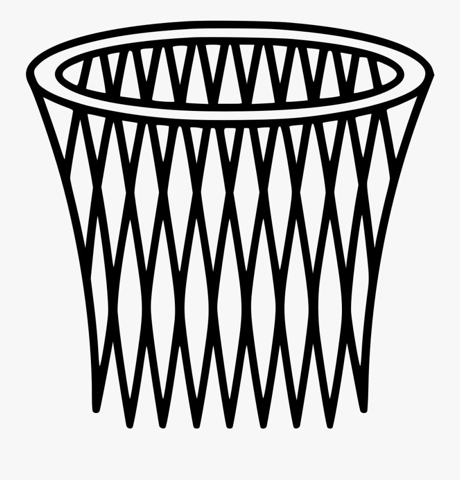 Basket Hoop Svg, Transparent Clipart