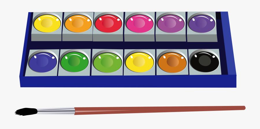 Water Color Paint Clipart, Transparent Clipart