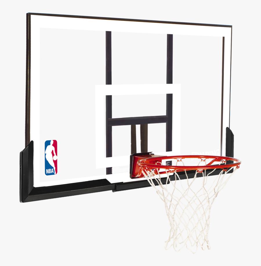 Transparent Basketball Net Png - Spalding Backboard, Transparent Clipart