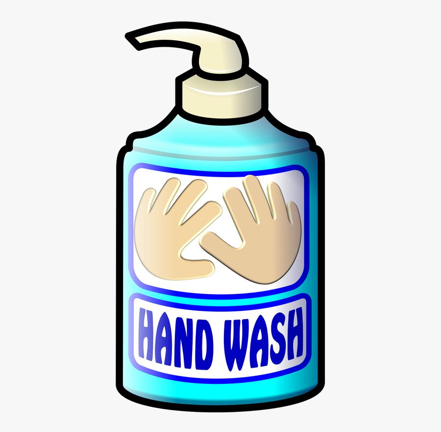 Collection Of Bottle - Hand Wash Liquid Clipart, Transparent Clipart