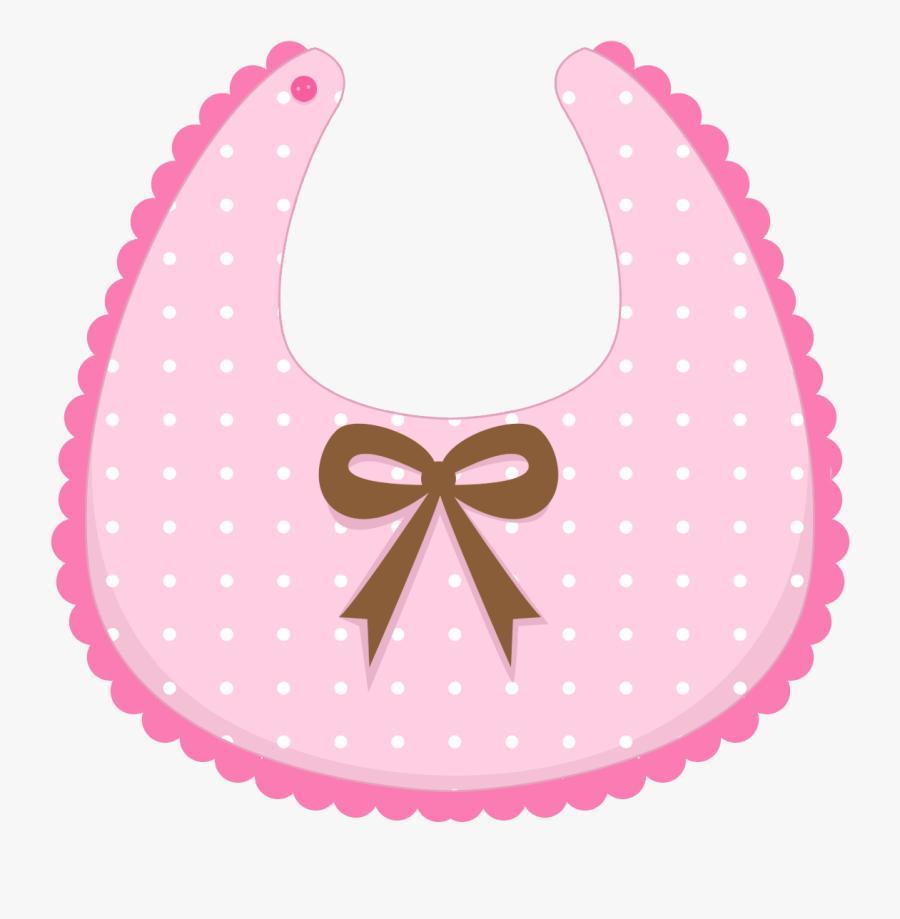 Pacifer Clipart Baby Bib - Imagenes De Babero Para Baby Shower, Transparent Clipart