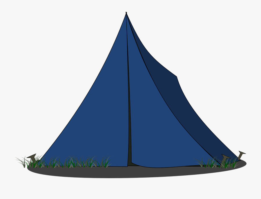 Tent Camping Pitched Free Picture - Tent Png Clipart, Transparent Clipart