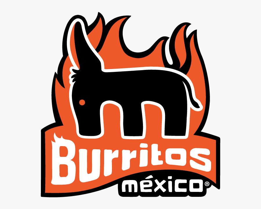 Burritos México Centro - Burrito, Transparent Clipart