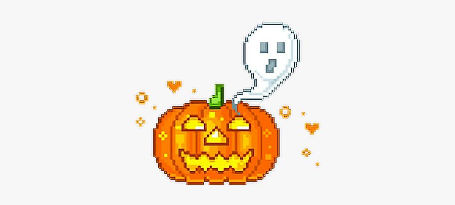 #jackolantern #lantern #pumpkin #jack #halloween #creepy - Transparent Aesthetic Gifs Png, Transparent Clipart
