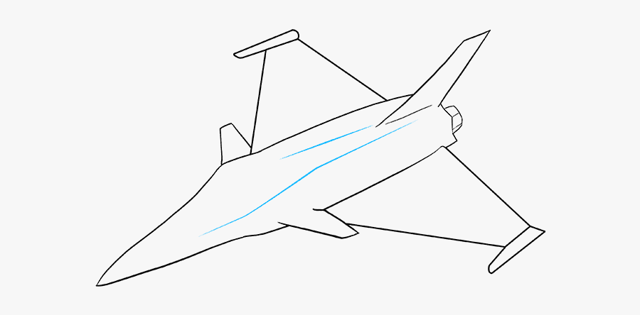 How To Draw Jet Draw A Fighter Jet Free Transparent Clipart Clipartkey