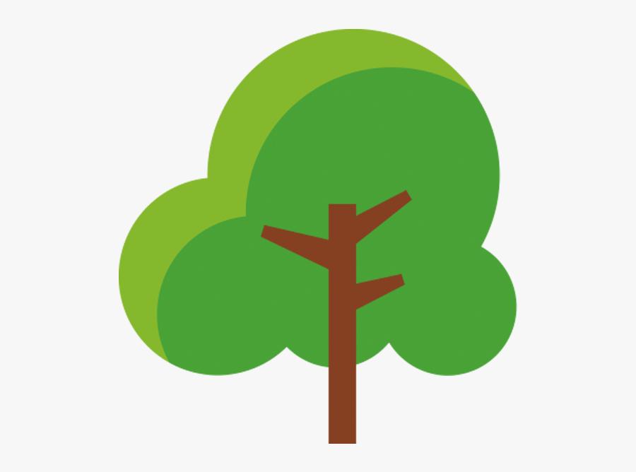 Cartoon Lush Trees - การ์ตูน ต้นไม้ Png, Transparent Clipart