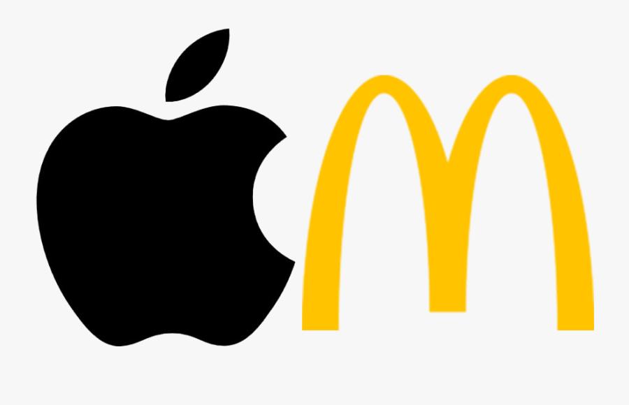 Company Logos Clipart Top - Apple Logo 4k Png, Transparent Clipart