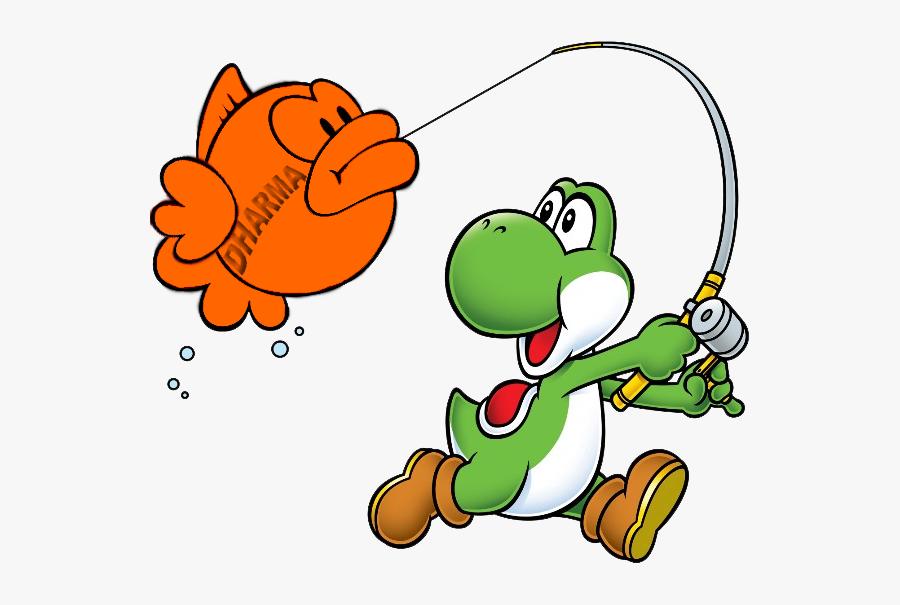 """Yoshi""""s Island Super Mario Bros - Mario Party Advance Yoshi, Transparent Clipart"""