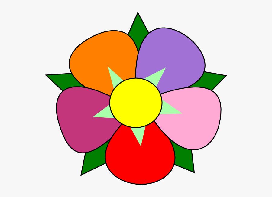 Transparent Single Clipart - Single Flower Clipart Png, Transparent Clipart