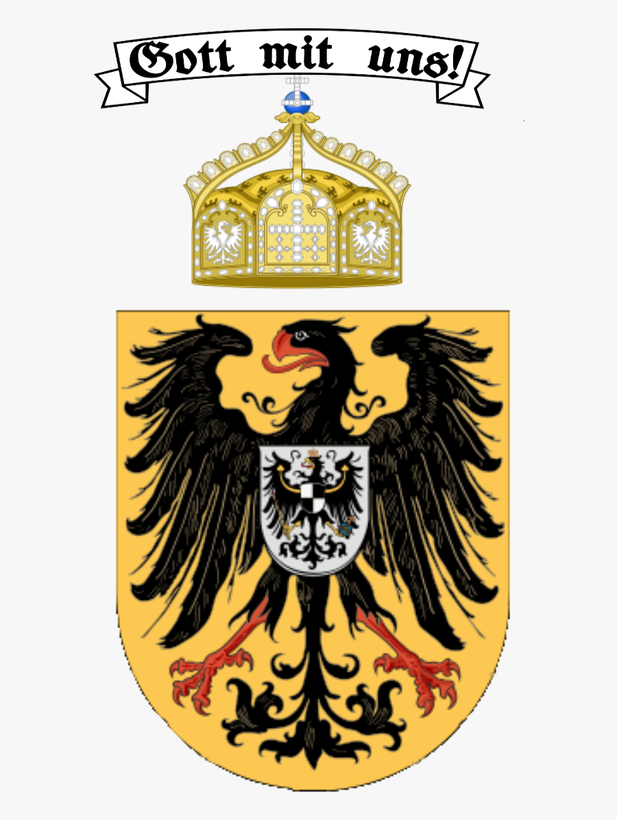 Flag, Coat Of Arms - Imperial German Coat Of Arms, Transparent Clipart