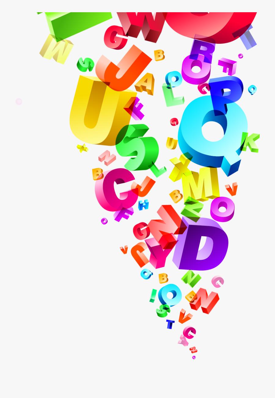 English Letters Clipart, Transparent Clipart