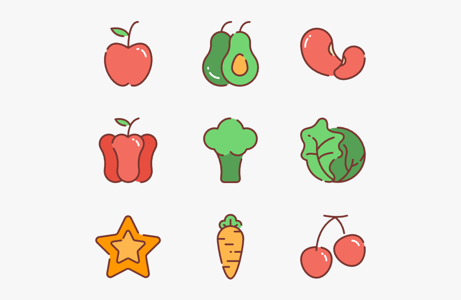 Vector Vegetables Fresh Vegetable - Vector Vegetables Png, Transparent Clipart