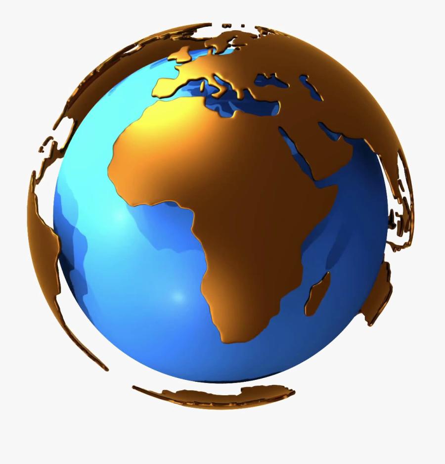 Design - Earth Globe Transparent Png, Transparent Clipart