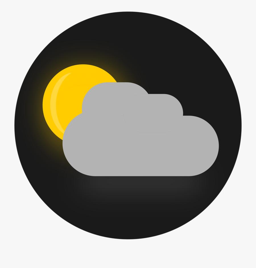 Evening Clouds Clip Art