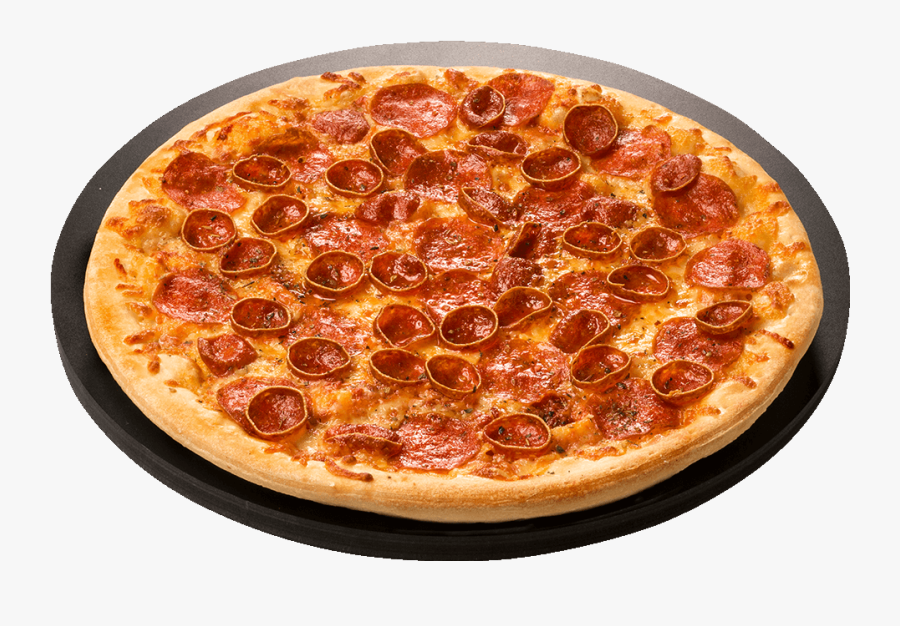 Pizza With Two Types Of Pepperoni Trail Dust - Pizza Ranch Pepperoni Pizza, Transparent Clipart
