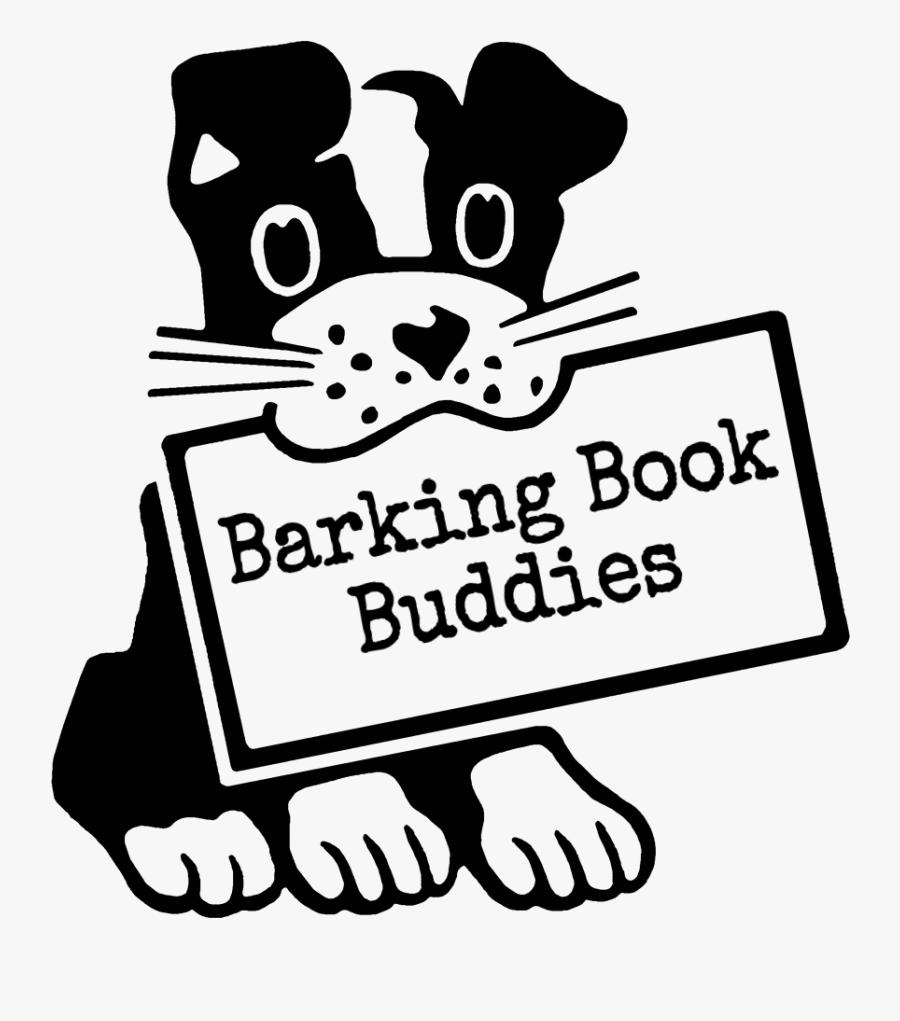 Barking Book Buddies - Dog On Board Sticker, Transparent Clipart