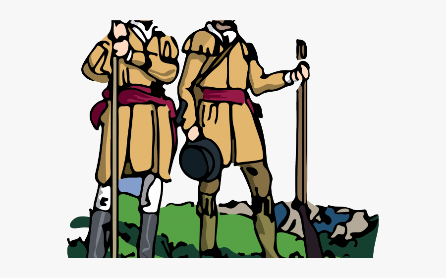 Lewis And Clark Clipart - Cartoon Lewis And Clark, Transparent Clipart
