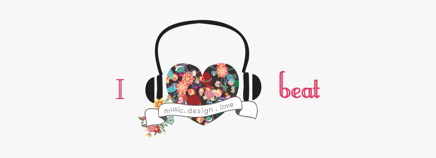 I Heart Beat - Graphic Design, Transparent Clipart