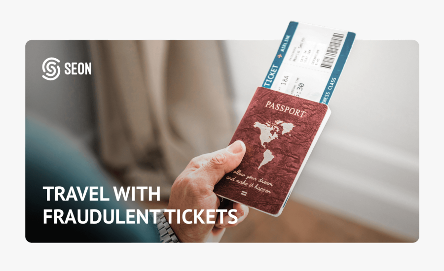 Passport Airline Ticket Png, Transparent Clipart