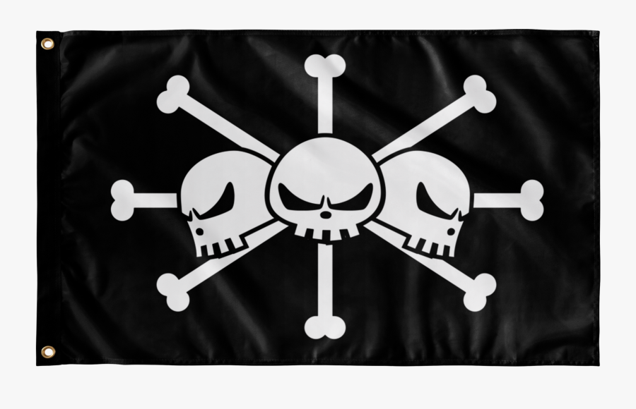Flags Wall Flag - One Piece Pirates Flag, Transparent Clipart