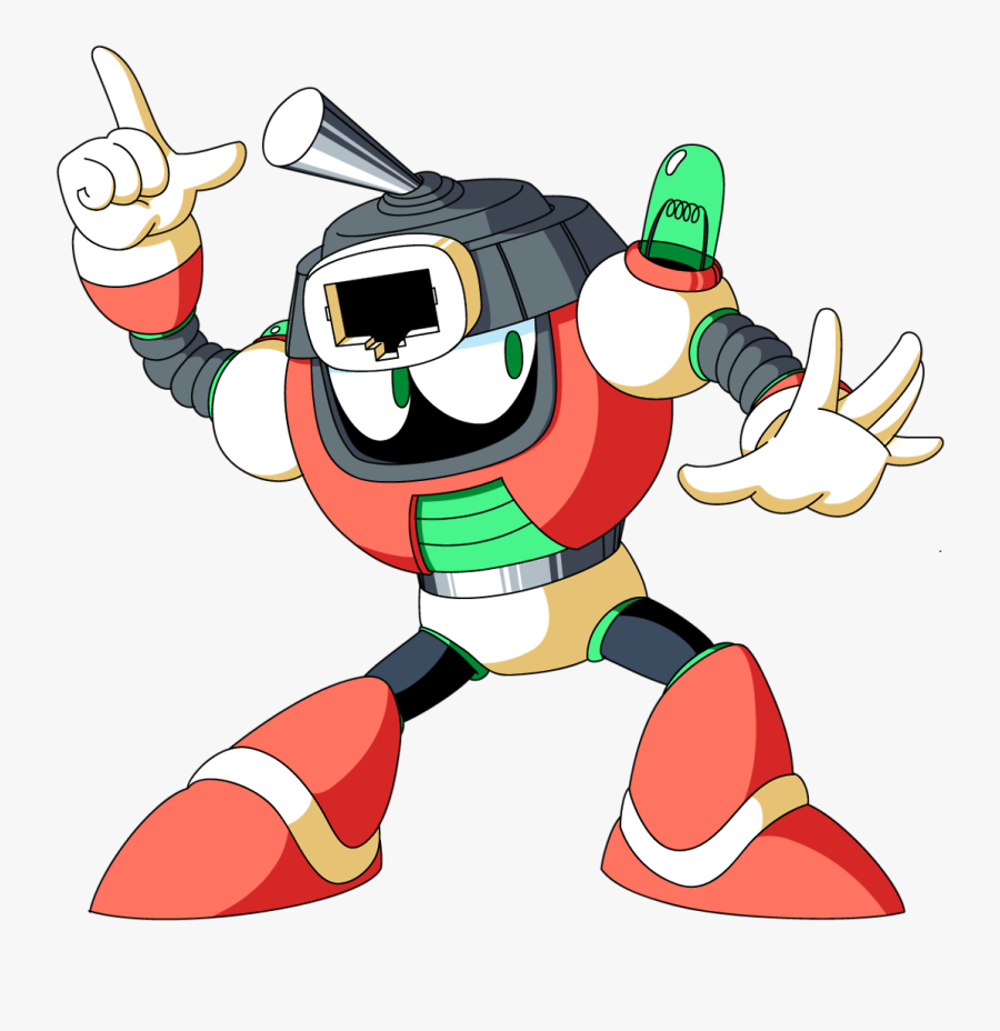 """Switch Man""""s New Official Artwork, Done By Karakato - Mega Man Switch Man, Transparent Clipart"""