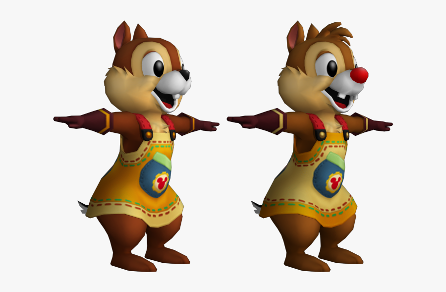 Kingdom Hearts Clipart Chip Dale - Chip And Dale Kingdom Hearts, Transparent Clipart