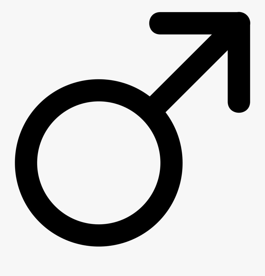 Male Symbol Png - Male Transgender Symbol, Transparent Clipart
