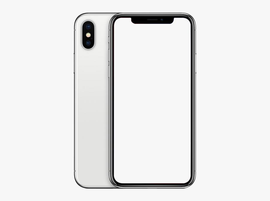 Apple Iphone X Mockup Transparent Png Image Searchpng - Iphone X Png Transparent, Transparent Clipart