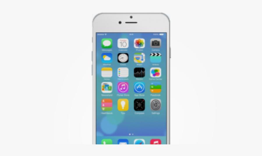 Apple Iphone Clipart Transparent Background - Apple Iphone 6 Png, Transparent Clipart