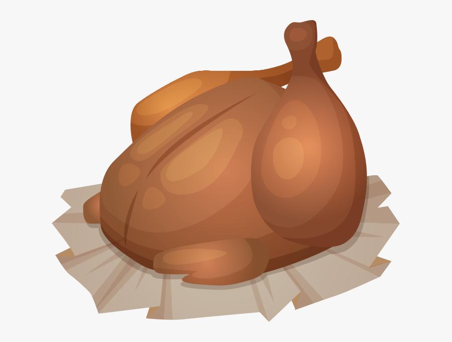 Clip Art Barbecue Grill Peking Duck - Bbq Chicken Cartoon Png, Transparent Clipart