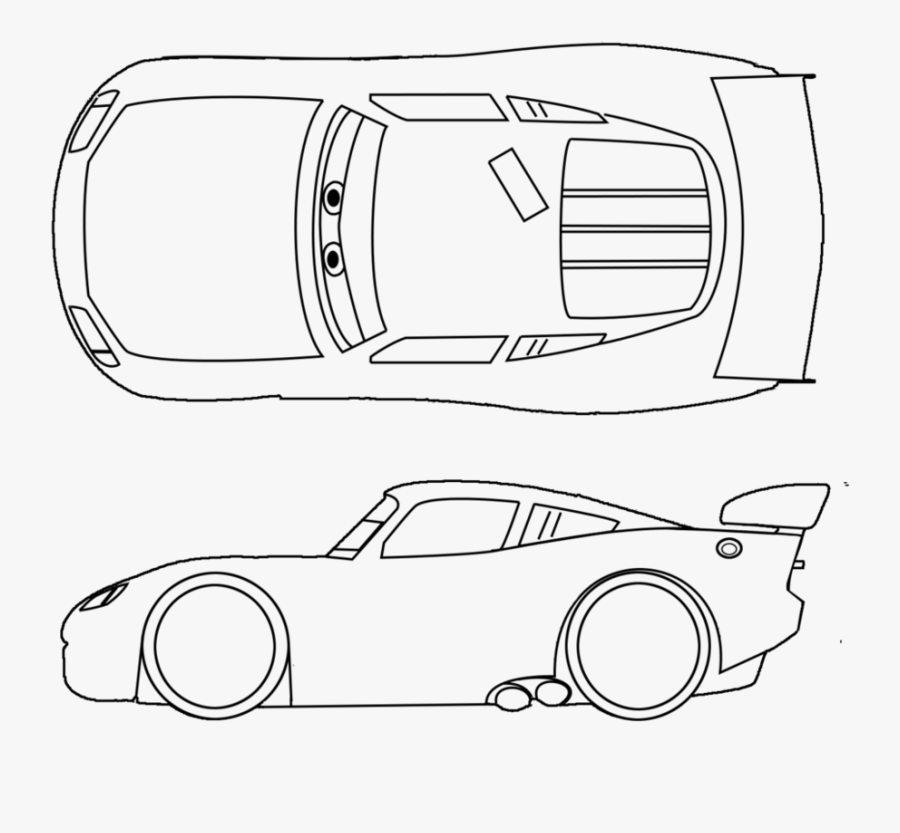 Mcqueen Clipart Black And White Lightning Mcqueen To Draw Free